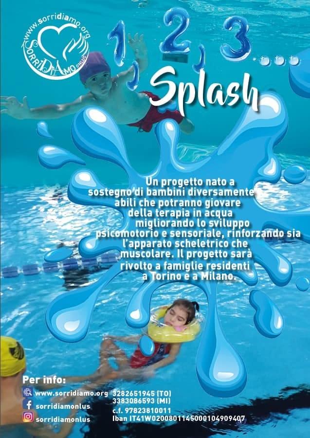123 splash per la terapia in acqua