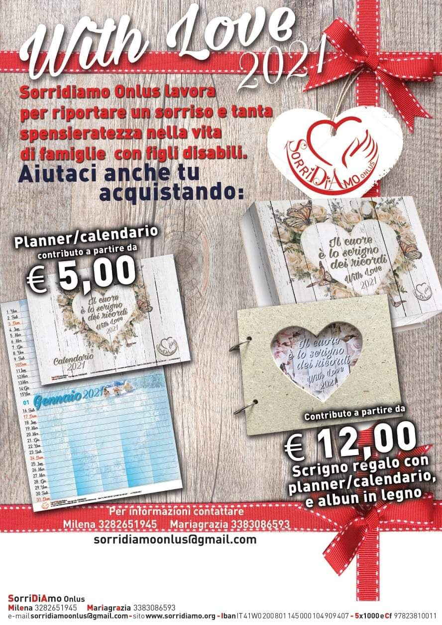 Progetto with love 2021